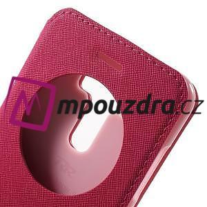 Diary pouzdro s okýnkem na mobil Asus Zenfone 3 ZE520KL - rose - 6