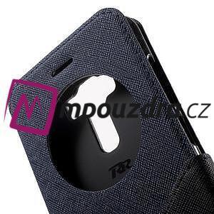 Diary pouzdro s okýnkem na mobil Asus Zenfone 3 ZE520KL - tmavěmodré - 6