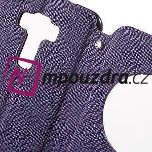Diary pouzdro s okýnkem na mobil Asus Zenfone 3 ZE520KL - fialové - 6