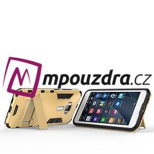 Odolný obal na mobil Asus Zenfone 3 ZE520KL - zlatý - 6