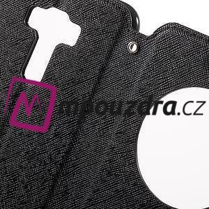 Diary pouzdro s okýnkem na mobil Asus Zenfone 3 ZE520KL - černé - 6
