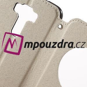 Diary pouzdro s okýnkem na mobil Asus Zenfone 3 ZE520KL - bílé - 6