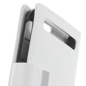 Peněženkové pouzdro na mobil BlackBerry Classic - bílé - 6