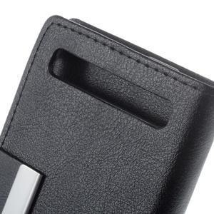Peněženkové pouzdro na mobil BlackBerry Classic - černé - 6