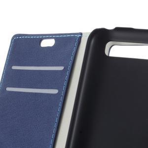 Peněženkové pouzdro na mobil BlackBerry Classic - modré - 6