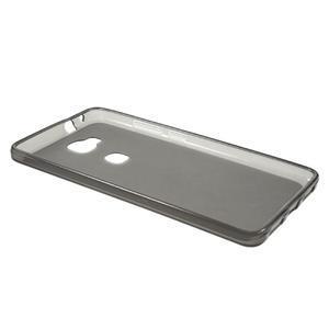 Matný gelový obal na mobil Honor 5X - šedý - 6