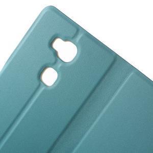 Peněženkové PU kožené pouzdro na mobil Honor 5X - modré - 6