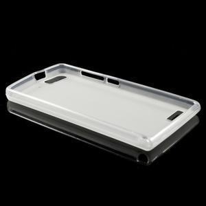 Matné gelové pouzdro na Huawei Ascend G6 - bílé - 6