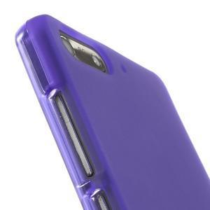 Matné gelové pouzdro na Huawei Ascend G6 - fialové - 6