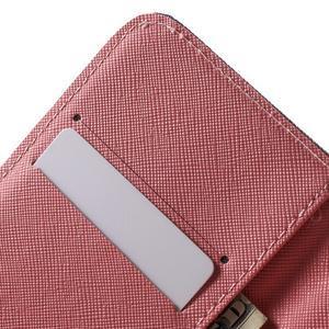Wall peněženkové pouzdro na LG K10 - kouzelní motýlci - 6