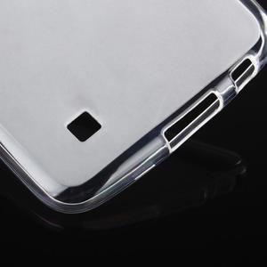 Stter matný gelový obal na mobil LG K10 - bílý - 6