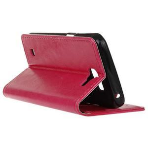 Leat peněženkové pouzdro na LG K4 - rose - 6
