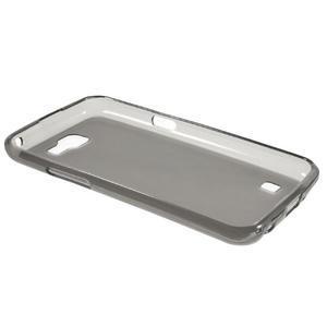 Matný gelový obal na mobil LG K4 - šedé - 6