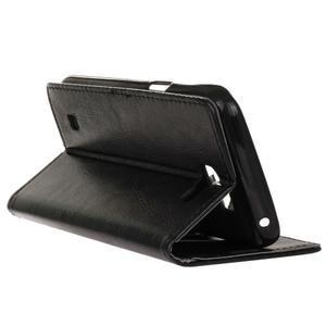 Leat peněženkové pouzdro na LG K4 - černé - 6