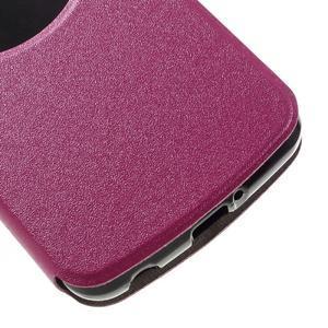 Trend pouzdro s okýnkem na mobil LG K4 - rose - 6