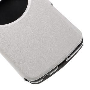 Trend pouzdro s okýnkem na mobil LG K4 - bílé - 6