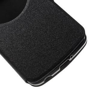 Trend pouzdro s okýnkem na mobil LG K4 - černé - 6