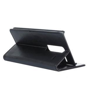 Sitt PU kožené pouzdro na mobil LG Zero - černé - 6