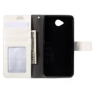 Funny peněženkové pouzdro na mobil Microsoft Lumia 650 - bílé - 6