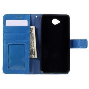 Funny peněženkové pouzdro na mobil Microsoft Lumia 650 - modré - 6