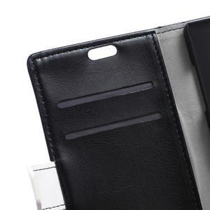 Flag peněnžekové pouzdro pro Microsoft Lumia 650 - černé - 6