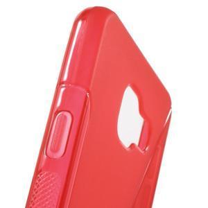 S-line gelové obal na mobil Samsung Galaxy A3 (2016) - červený - 6