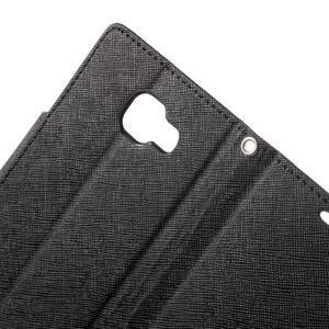 Goospery peněženkové pouzdro na Samsung Galaxy A3 (2016) - černé - 6