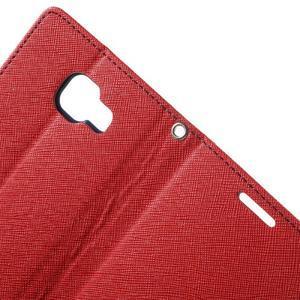 Goospery peněženkové pouzdro na Samsung Galaxy A3 (2016) - červené - 6