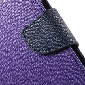 Goospery peněženkové pouzdro na Samsung Galaxy A3 (2016) - fialové - 6