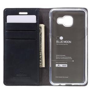 Mercury peněženkové pouzdro na Samsung Galaxy A3 (2016) - tmavěmodré - 6