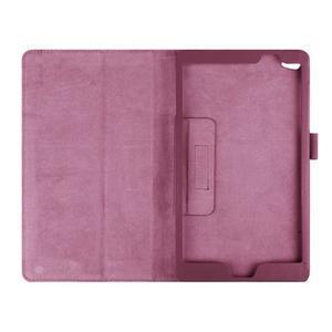 Safe polohovatelné pouzdro na tablet Huawei MediaPad M2 8.0 - fialové - 6