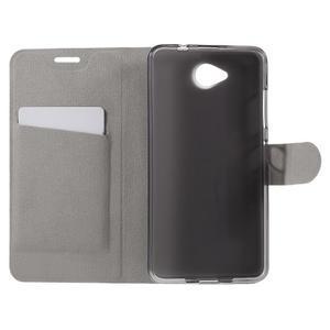 Horse peněženkové pouzdro na mobil Microsoft Lumia 650 - bílé - 6