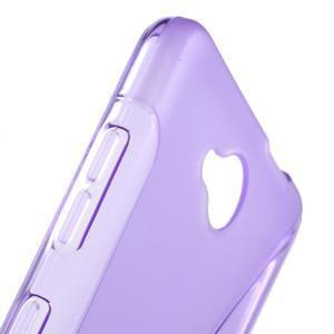 S-line gelový obal na mobil Microsoft Lumia 650 - fialový - 6