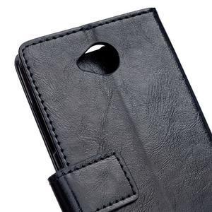 Fold peněženkové pouzdro na Microsoft Lumia 650 - černé - 6