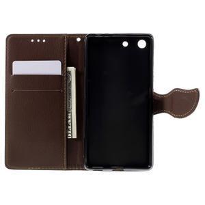 Blade peněženkové pouzdro na Sony Xperia M5 - černé - 6