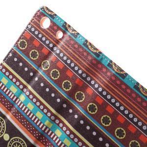 Stand peněženkové pouzdro na Sony Xperia M5 - tribal - 6