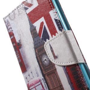 Stand peněženkové pouzdro na Sony Xperia M5 - UK Big Ben - 6