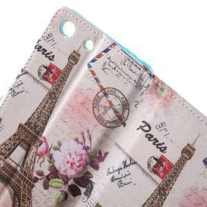 Stand peněženkové pouzdro na Sony Xperia M5 - Eiffelova věž - 6