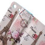 Stand peněženkové pouzdro na Sony Xperia M5 - Eiffelova věž - 6/7