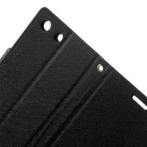 Goos PU kožené penženkové pouzdro na Sony Xperia M5 - černé - 6