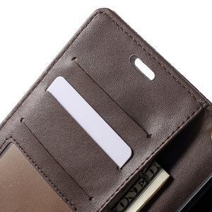 Croco peněženkové pouzdro na mobil Sony Xperia M5 - coffee - 6