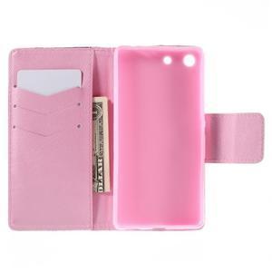 Crafty peněženkové pouzdro na Sony Xperia M5 - pampeliška - 6