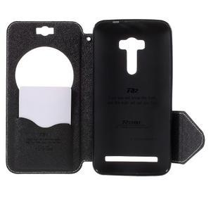 Peněženkové pouzdro s okýnkem na Asus Zenfone Selfie ZD551KL - bílé - 6