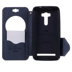 Peněženkové pouzdro s okýnkem na Asus Zenfone Selfie ZD551KL - fialové - 6