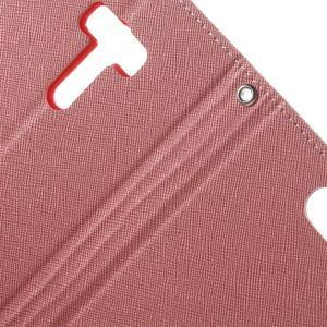Mr. Goos peněženkové pouzdro na Asus Zenfone Selfie ZD551KL - růžové - 6