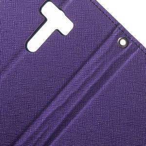 Mr. Goos peněženkové pouzdro na Asus Zenfone Selfie ZD551KL - fialové - 6