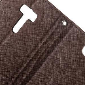 Mr. Goos peněženkové pouzdro na Asus Zenfone Selfie ZD551KL - hnědé - 6