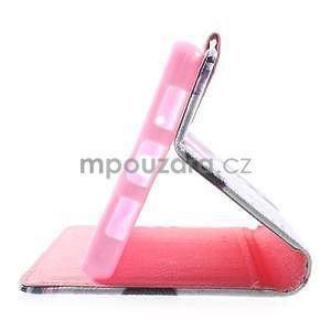Peněženkové pouzdro Style pro Huawei Ascend P8 Lite - květy - 6