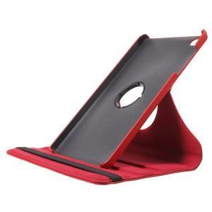 Otočné polohovatelné pouzdro na Huawei MediaPad M2 - červené - 6