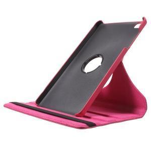 Otočné polohovatelné pouzdro na Huawei MediaPad M2 - rose - 6